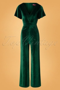 Rebel Love Clothing Green Velvet Jumpsuit 133 40 27529 20181031 006W