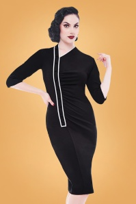 Rebel Love Clothing Black Tail Shaker Dress 100 10 27526 04