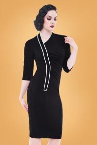 Rebel Love Clothing Black Tail Shaker Dress 100 10 27526 03
