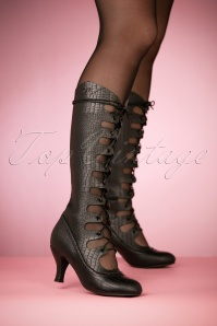 20s Free Bird Boots in Black