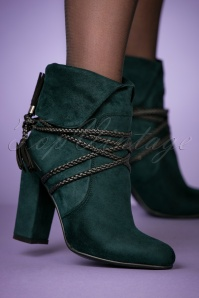 Banned Green Ankle Boots 441 40 26207 10242018 005W