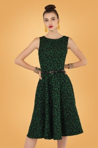 Closet Londen Swingdress Sparkle Green 102 49 28440m2