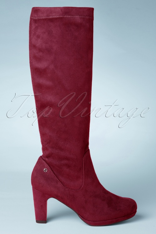 Tamaris Bordeaux High Boots 440 20 25792 new edition 0007W