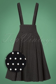 Collectif Clothing Black White 50s Alexa Polkadot 122 14 24837 20180626 003Z