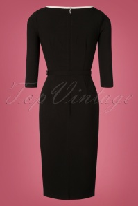Grace & Glam Black and White Pencil Dress 100 10 28265 20181102 0333W