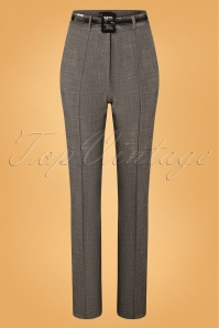 50s Ash Pencil Pants in Grey