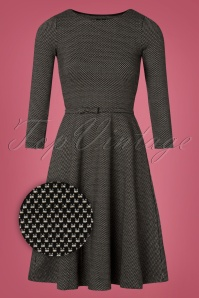 60s Midtown Girl Dress in Black
