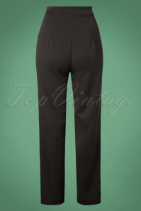 Banned Retro Black Contrast Pants 131 10 26147 20181105 0458W