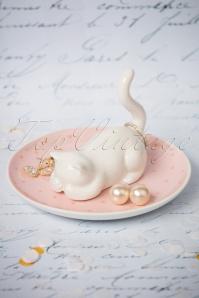 50s Cutie Cat Trinket Dish