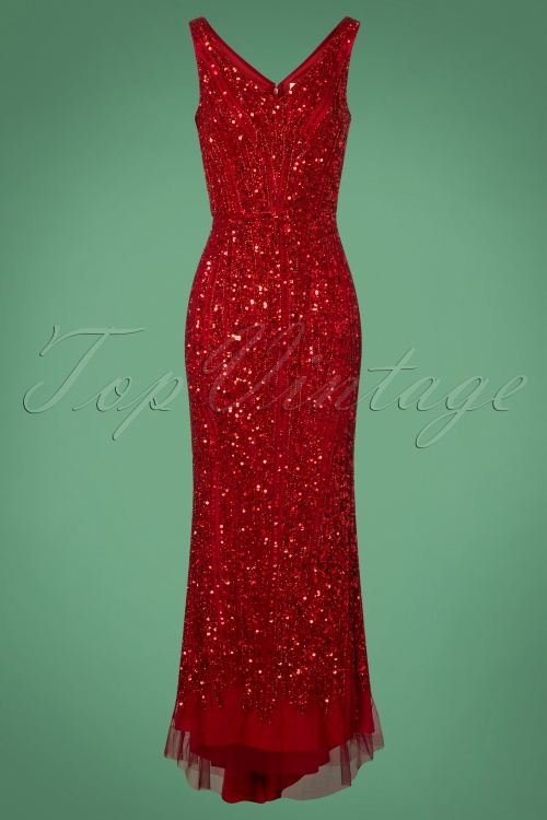 Gatsby Lady Sophie Dress Red 108 20 27921 20181105 0507W