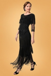 Gatsby Lady Glam Dress Black 108 10 27924 20181105 0483