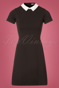 60s Pam A-Line Dress in Black