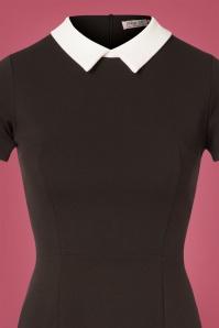 Vintage Chic Black White Dress 106 10 28297 20181105 0445V