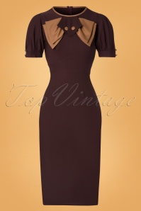 Stop Staring Penny Dress Brown Beige 100 70 26267 20181107 0515W