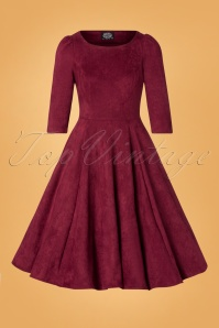 Hearts & Roses Red Wine Dress Swing 102 20 26946 20181107 0701W