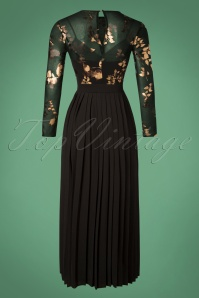 Little Mistress Black Floral Maxi Dress 108 14 26427 20181108 008W