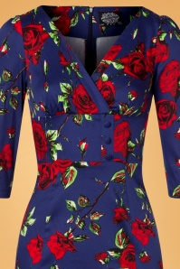 Hearts & Roses Blue and Red Dress 100 39 26955 20181109 0738V