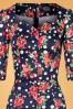 Hearts & Roses Navy Flower Dress 100 39 26942 20181109 0727V