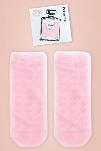 Perfume Socks in Light Pink
