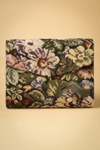 30s Ulla Floral Bag in Black
