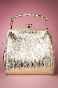 50s Mindy Glorious Handbag in Light Gold