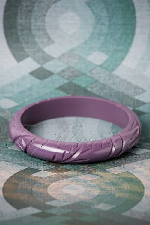The Pink Bungaloo Midi size Purple Bangle 310 60 26633 11082018 002W