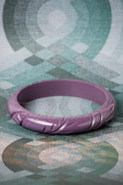 The Pink Bungaloo Midi size Purple Bangle 310 60 26633 11082018 002W