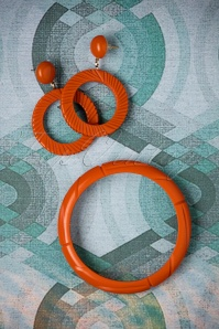 The Pink Bungaloo Midi size Rust Bangle 310 80 26631 11082018 003W