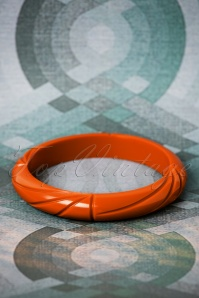 TopVintage Exclusive ~ 50s Small Bangle in Rust