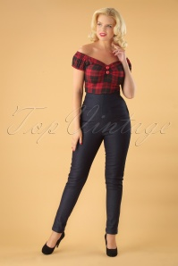 Colletif Clothing Navy Tara Trouble Maker Jeans 131 31 24873 20180627 1W