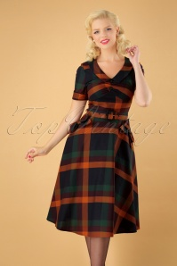 Vixen Samantha Tartan Dress 25018 20180831 1W
