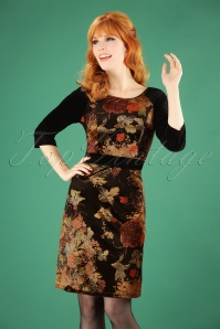 Banned Black Velvet Retro Dress 106 14 26263 20180920 1W