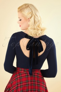 Collectif Clothing Tracy Jumper in Blue 113 31 24798 20180921 002W