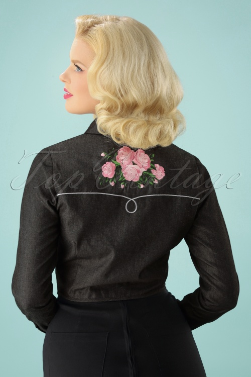 5328ff349767d Collectif Clothing Samantha Western Rose Tie Blouse 112 10 24857 20180626 2W
