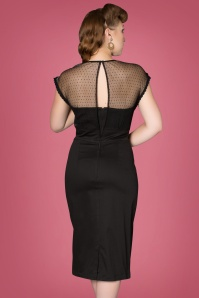Sheen Black Oprah Dress 100 10 27613 003