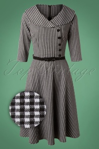Vixen Aubrey Houndstooth Dress 102 14 25006 20180927 0005Z