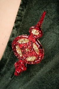 Glitz o Matic Christmas tree Top Brooch 27996 10042018 022W