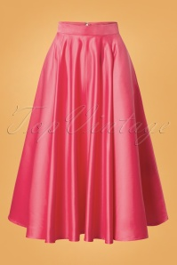 Banned Michaelle Full Circle Skirt in Pink 26236 20180718 0003W