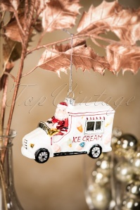 Sass and Belle Ice Cream Truck Christmas Hanger 290 90 28616 11152018 005W