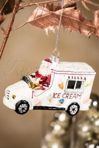 Sass and Belle Ice Cream Truck Christmas Hanger 290 90 28616 11152018 003W