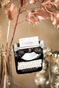 Sass and Belle Vintage Typewriter Christmas Hanger 290 14 28615 11152018 005W