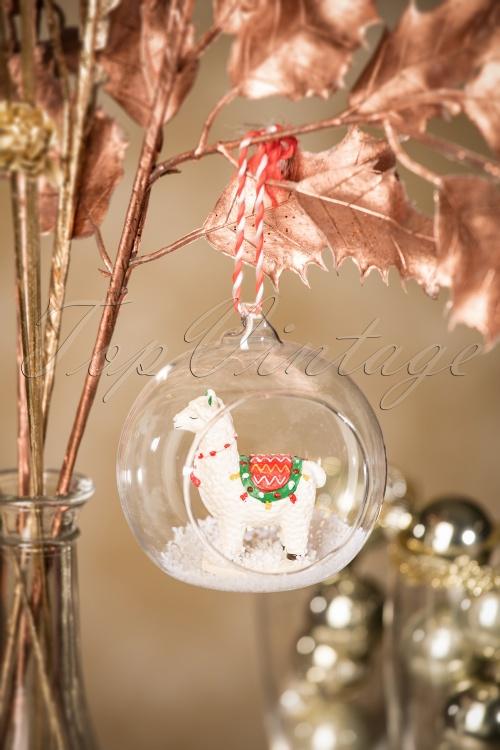 Sass and Belle Fa La La Lama Christmas Hanger 290 90 28614 11152018 005W