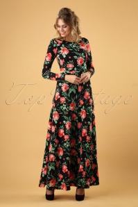 Vintage Chic Black Red Floral 108 14 28049 20181018 004W