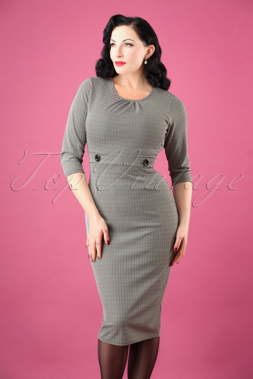 Vintage Chic Jacquard Sleeve 100 14 26454 20181010 0003W
