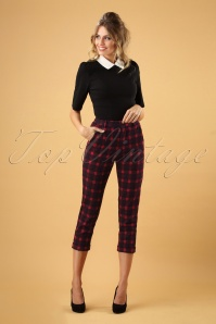 Louche Jaylo Plaid Trousers 131 27 26613 20181012 0003W