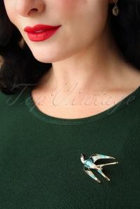 Kaytie Blue Swallow Brooch 340 39 28188 11022018 002W