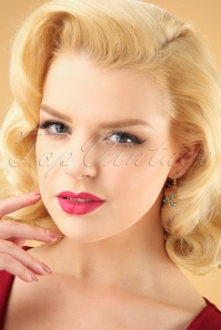 Kaytie Small Christmastree earrings 333 49 28192 11052018 model01W