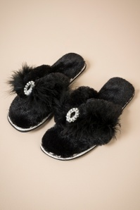 Zoe Slipper Black 429 10 25915 b