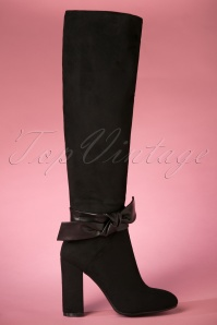 60s Nero Boots in Black