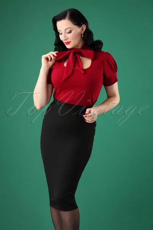 Vintage Chic Pencil Skirt 27591 20180927 0002 1W